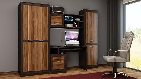 Mobili Ufficio Di Legno : Boss soggiorno camera da letto ufficio maggia set di mobili in