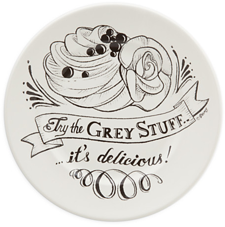 Be Our Guest Dessert Plate - White | Disney Store