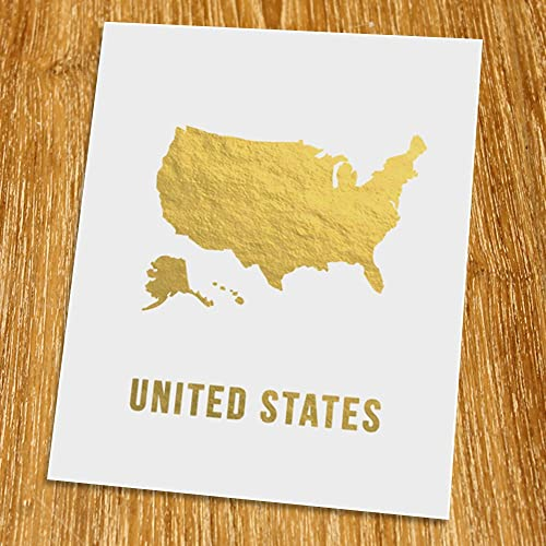 Amazon.com: USA Gold Map Print (Unframed), United States Map ... on gold in vermont, gold in california, gold in puerto rico, gold in united states, gold in turkey, gold in pennsylvania, gold in north dakota, in the civil war states map, gold in indiana, copper mining in the united states, us mining map, gold mines in usa, virginia gold mining, gold mining in alaska, gold in arkansas, gold country, gold deposits in usa, landslide united state map, latin america map,