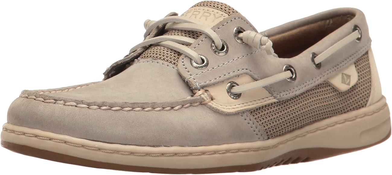 Rosefish Boat Shoe, Light Grey
