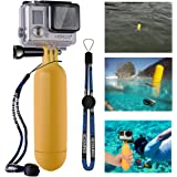 XCSOURCE Monopod Diving Floaty Floating Hand Grip Handle + Screw + Wrist Strap Accessory Float For Gopro Hero 2 3 3+ (Yellow)