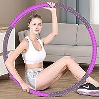 Hoola Hoop Reifen Erwachsene 1.5kg, 6-8 Segmente Abnehmbarer Hoola Hoop Reifen Geeignet Für Fitness/Sport/Zuhause/BüRo…
