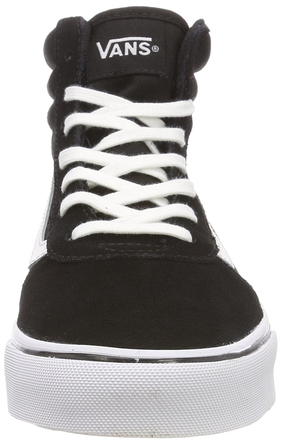 d7caafeee6 Vans Women s Maddie Hi Suede Canvas Top Trainers  Amazon.co.uk  Shoes   Bags
