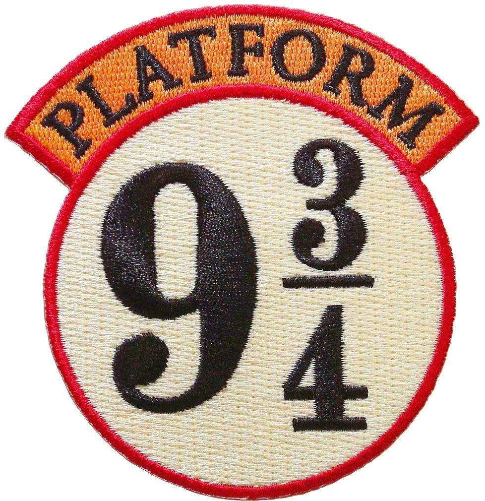 Harry Potter Platform 9 3/4 Iron On Patch Ata-Boy Inc. 61048HP
