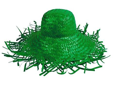 Alsino Trendy sombrero de paja Beach sombrero gorro de fiesta verde SH de 25 9a84d505f95