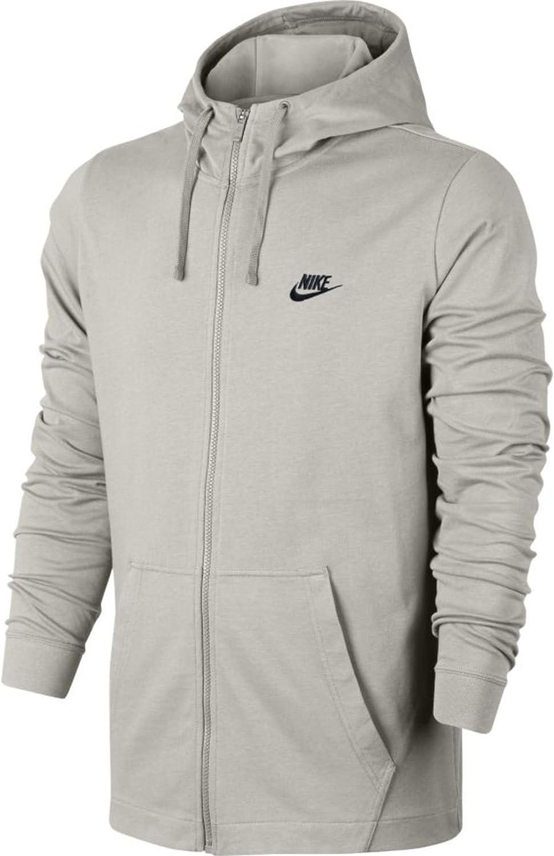 Nike Mens Jersey Club Full Zip Hoodie
