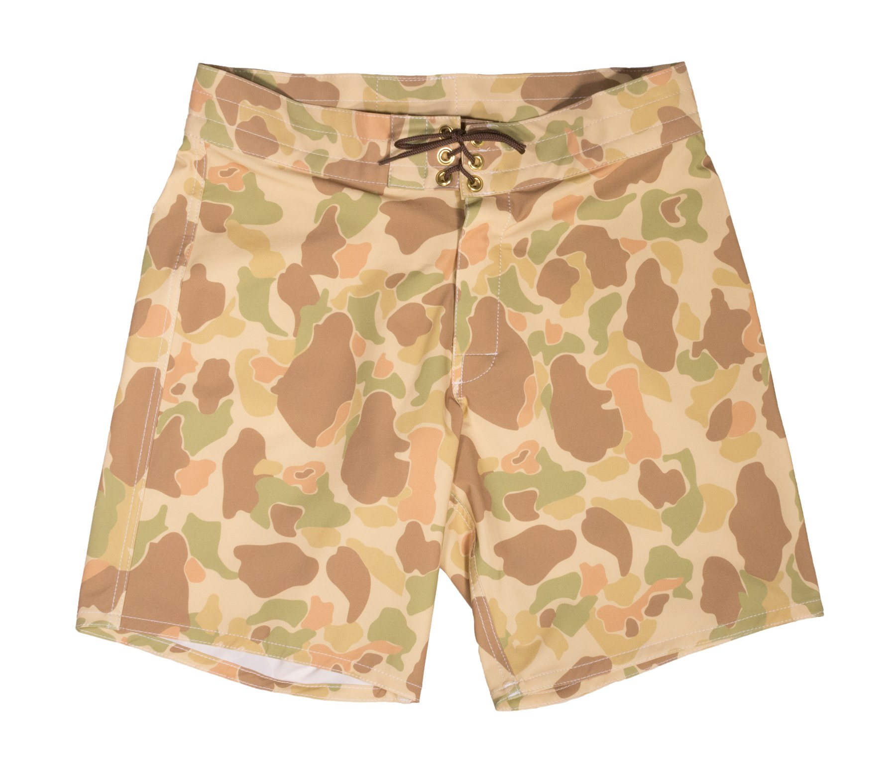 Birdwell Men's Stretch Board Shorts - Medium Length (32, Camouflage)