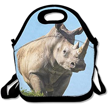Amazon com: White Rhinoceros Reusable Insulated Lunch Bag School