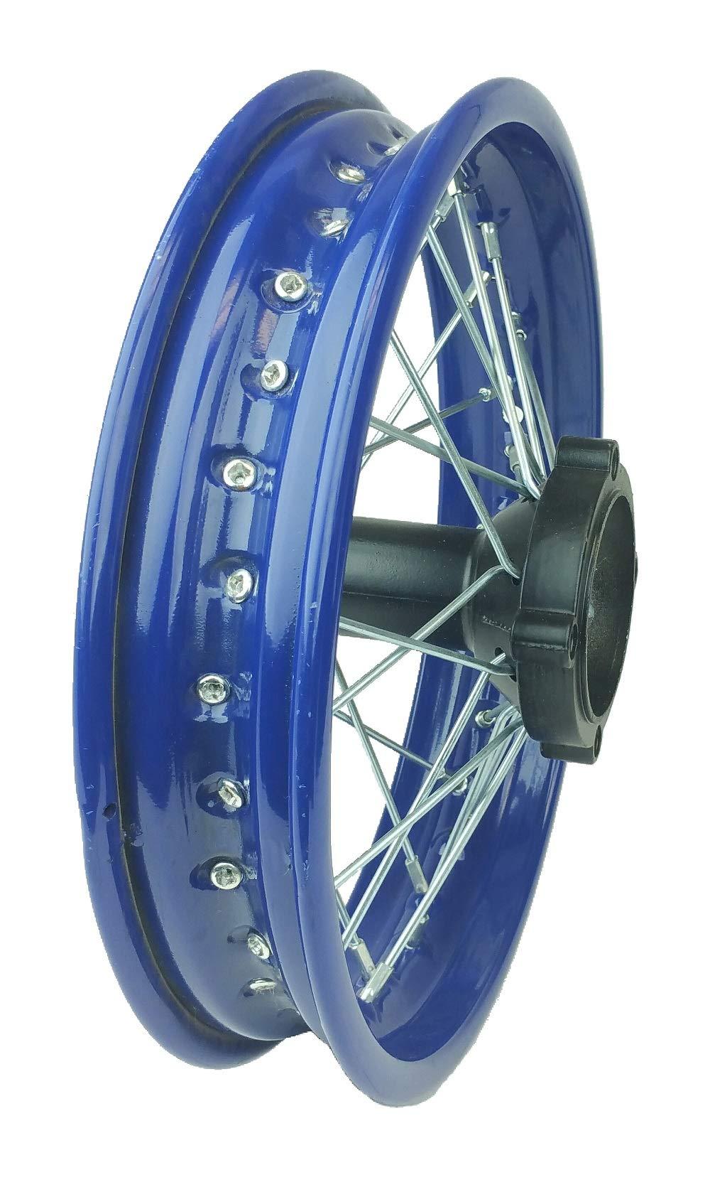 12'' Steel BLACK Rear Rim Wheel Disk Brake Apollo SSR 125cc XR CRF Dirt Pit Bike Chines Made Dirt Bikes 12mm Shaft