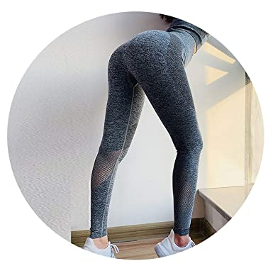 c3de348619d Amazon.com: Stree Corner Seamless Leggings omen High Waist Gym Yoga ...