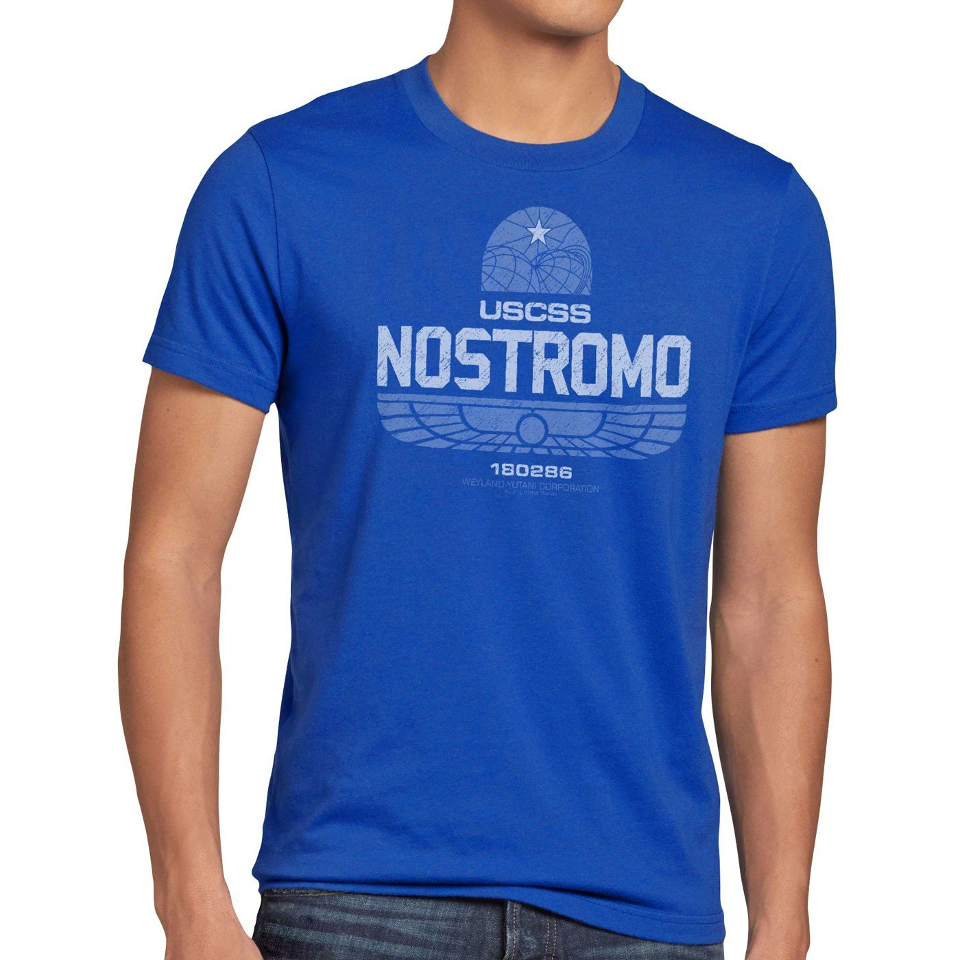 style3 USCSS Nostromo 180286 Herren T-Shirt alien xenomorph: Amazon.de:  Bekleidung