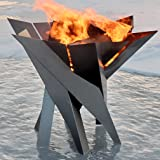 Modern Outdoor Patio Stainless Steel Fire Pit PHOENIX BLOSSOM