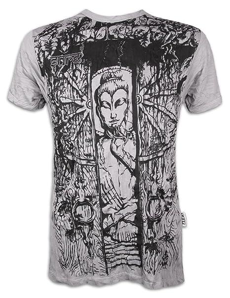 Sure Camiseta Hombre Buda - la Rueda de la Vida Talla M L XL ...