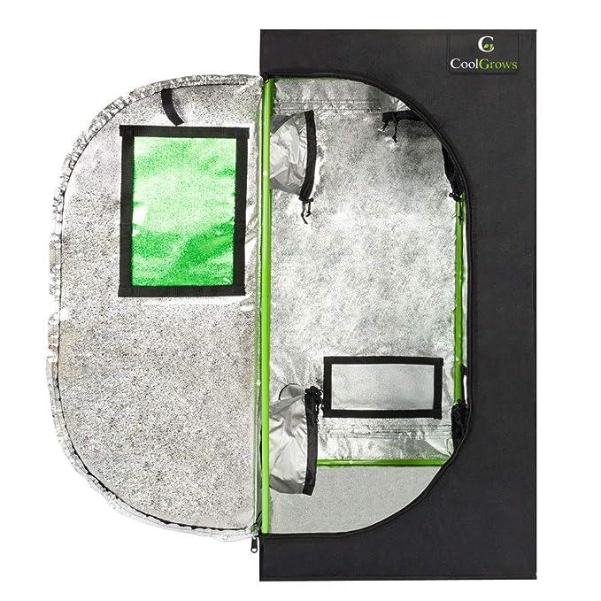 valuebox Grow reflectante hidropónico tienda de campaña para cultivo de plantas en interior desmontables no tóxico habitación...: Amazon.es: Jardín