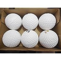Forever Online Shopping Hockey Balls (White) - Set of 6