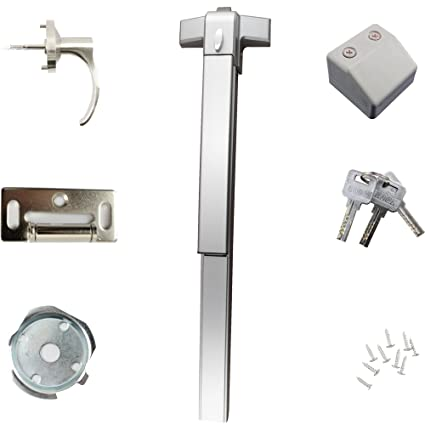 Push Bar Panic Exit Device Stainless Steel Fits 28-36 Commercial Door