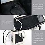 EdenPetz Airline-Approved Pet Carrier Bag for Small Dogs, Cats, Puppies, Kittens,Designed for Travel, Hiking, Walking & Outdoor Use,Free Collapsible Pet Bowl