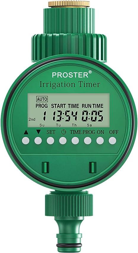 LCD Bewässerungstimer Automatische Schaltuhr Wasser Zeitschaltuhr für Garten TOP