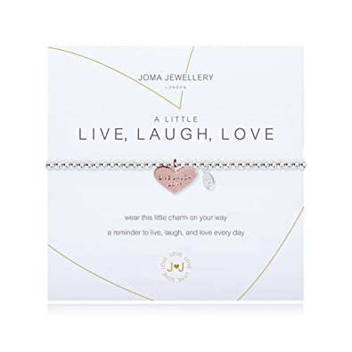 Joma Jewellery a little Live Love Sparkle bracelet