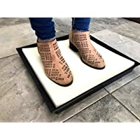 Tapete Charola Sanitizante Desinfectante De Zapatos 40x40