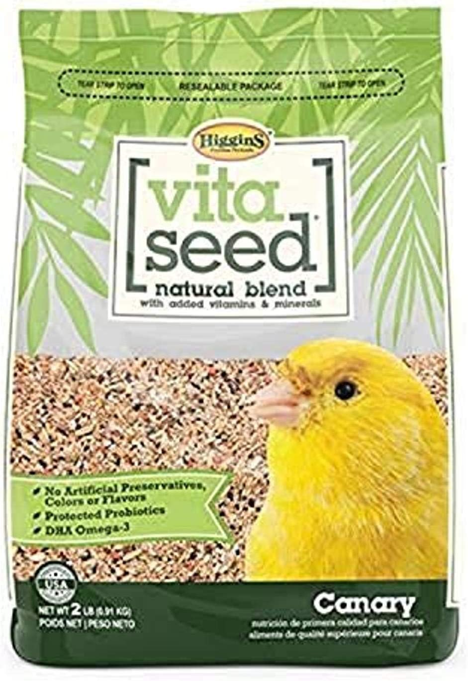 Higgins Vita Seed Canary 2 Lb