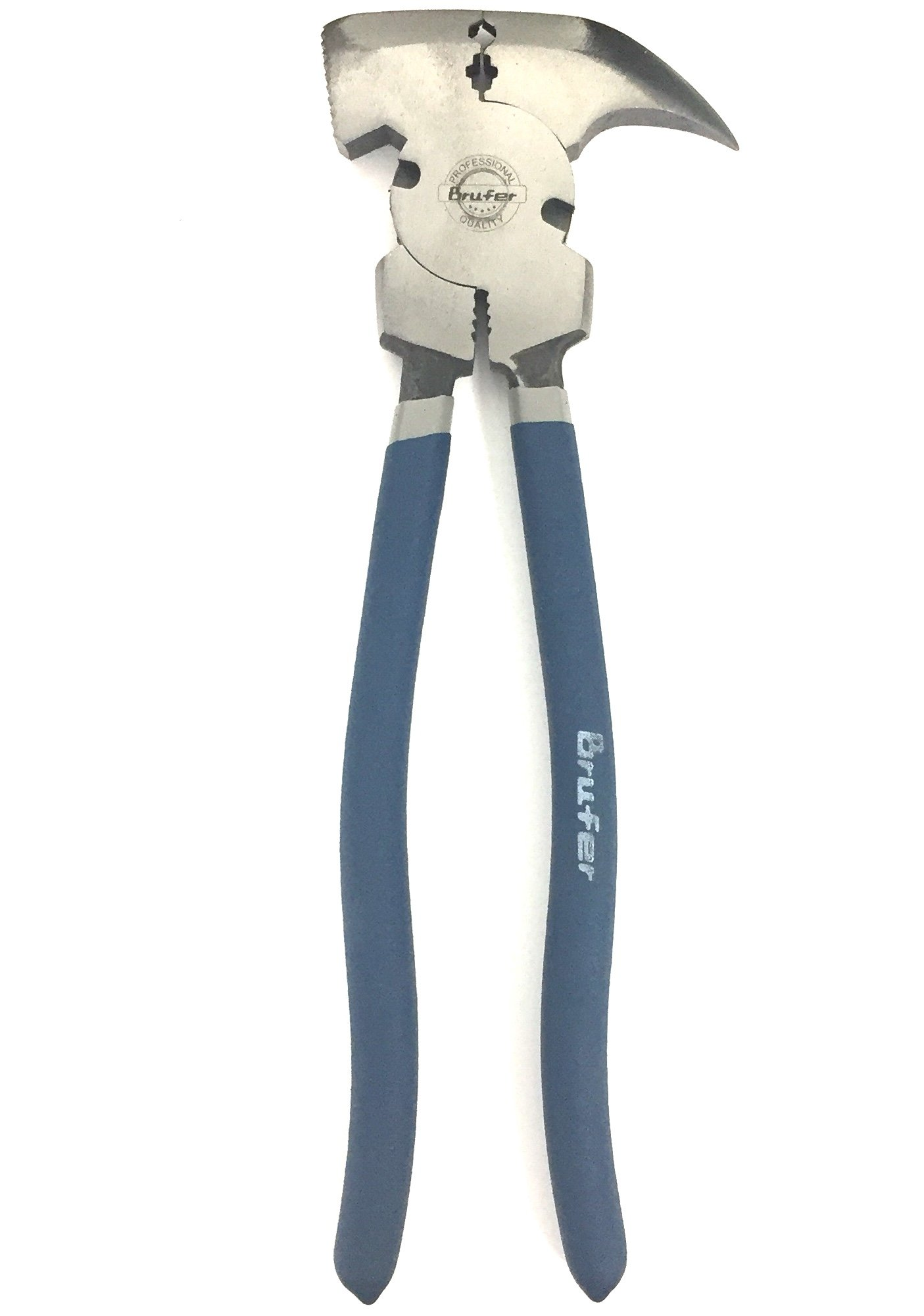 BRUFER 201195 Fence Plier Tool, 10.5-Inch