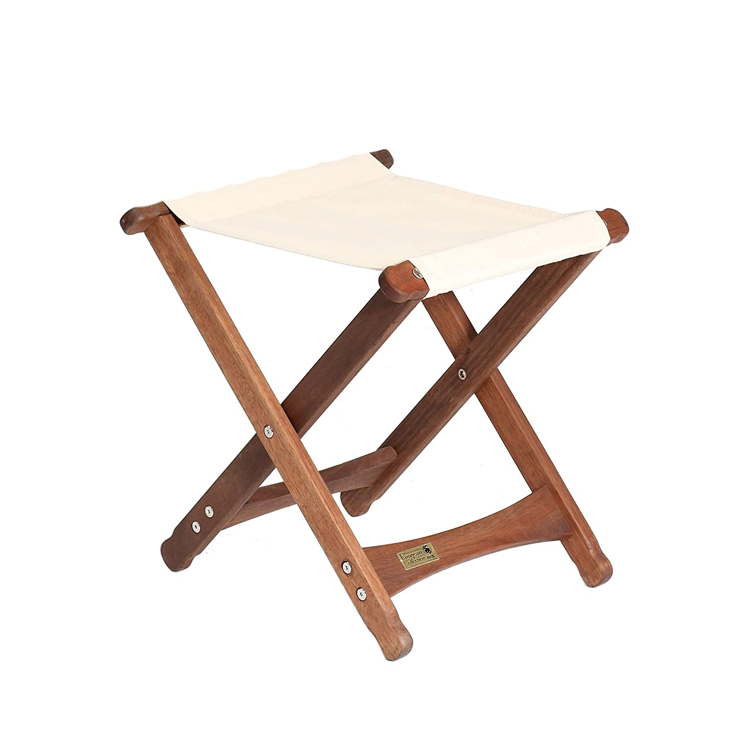 Terrific Byer Of Maine Pangean Folding Stool Hardwood Easy To Fold And Carry Wood Folding Stool Canvas Camp Stool Perfect For Camping Matches All Camellatalisay Diy Chair Ideas Camellatalisaycom