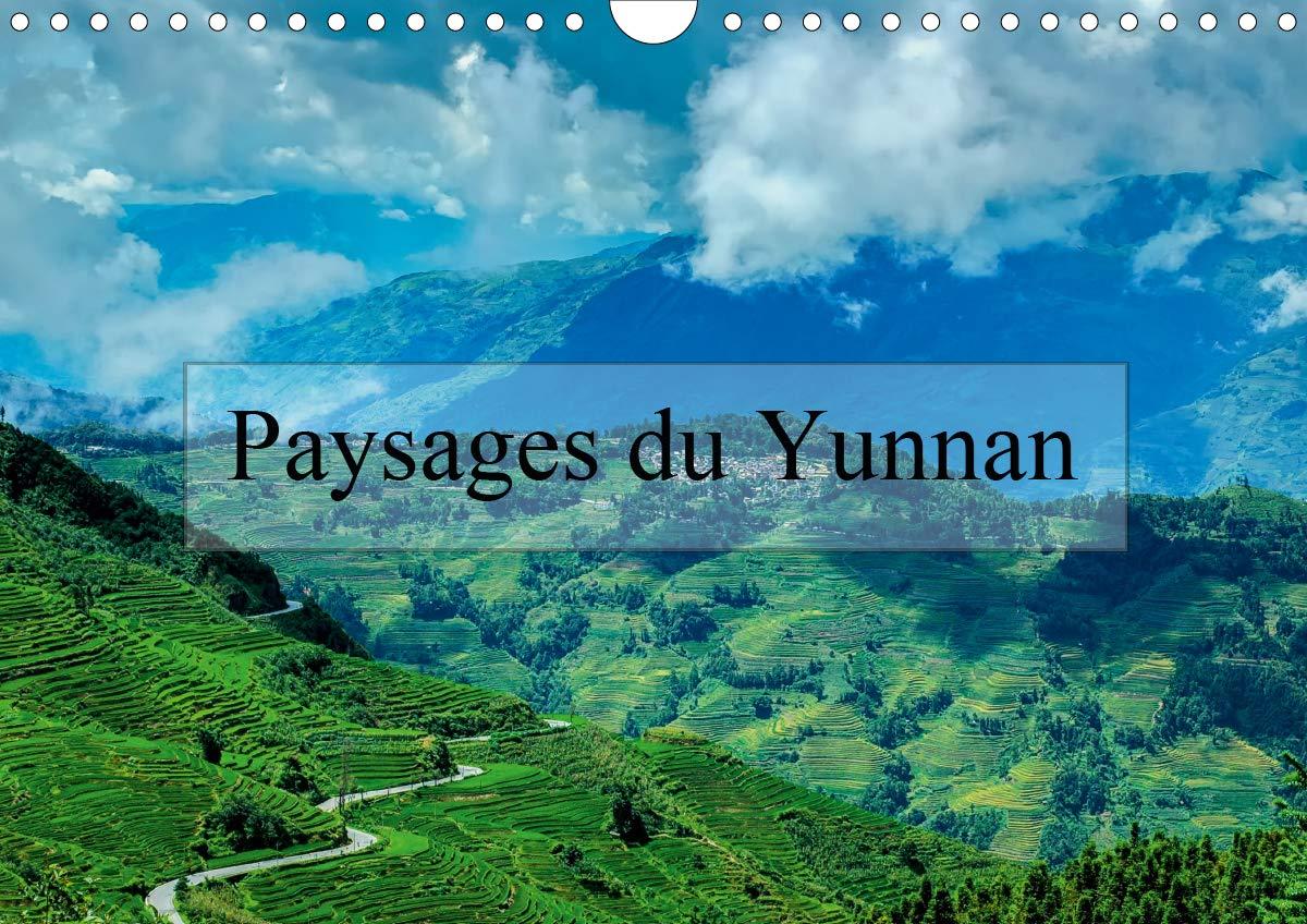 Paysages du Yunnan (Calendrier mural 2020 DIN A4 horizontal)