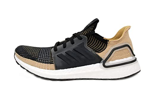 Detalles de adidas Hombre Ultra Boost 19 Correr Zapatos Zapatillas Negro Blanco Deporte