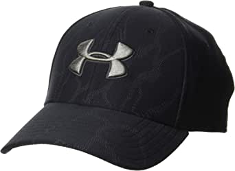 Under Armour Men's Printed Blitzing 3.0 Stretch Fit Cap