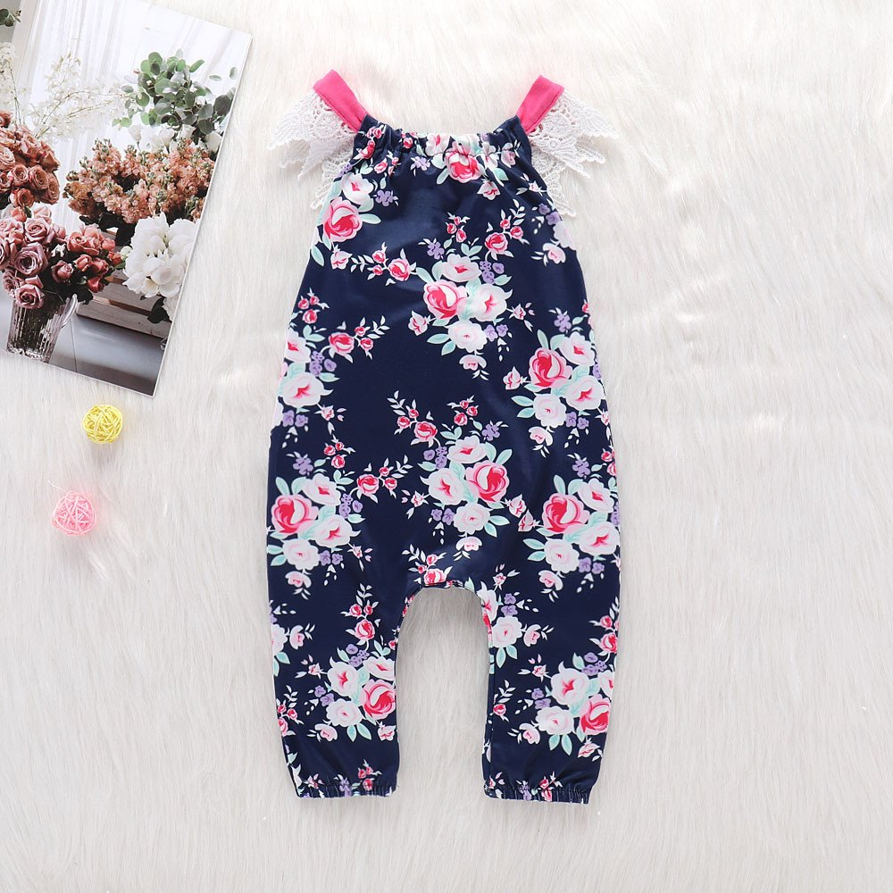 f15e1417b Amazon.com  Yamally 9R Baby Girl Rompers 0-24M Baby Girls Rompers ...
