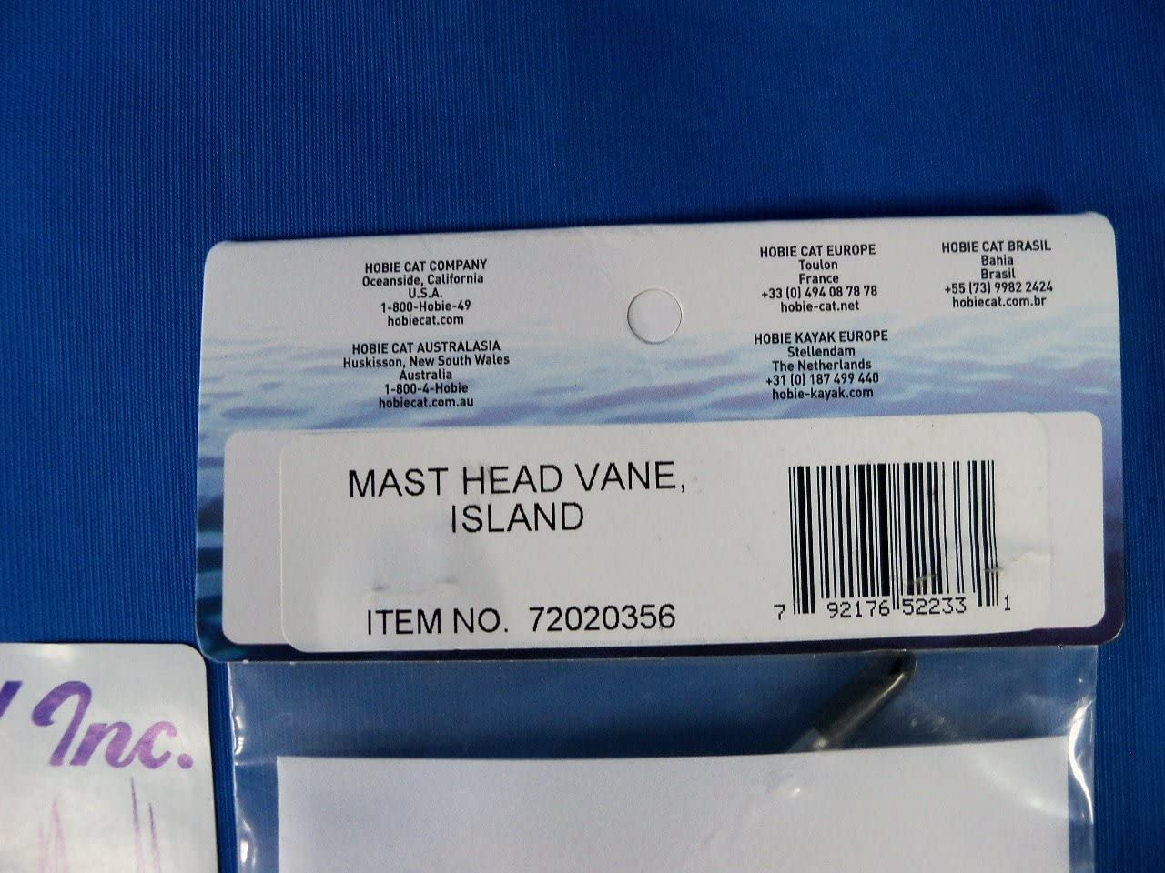 Hobie Mast Head Wind Vane for Island