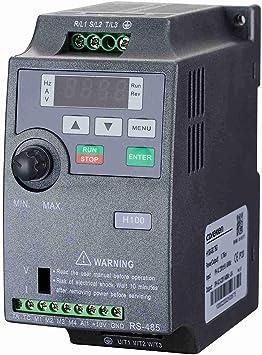 Litorange Vector Control VFD 1 Single Phase 220V 0.75KW-2.2KW 1-3HP Variable Frecuencia Drive CNC VFD Motor Drive Inversor para Spindle Motor Speed ...