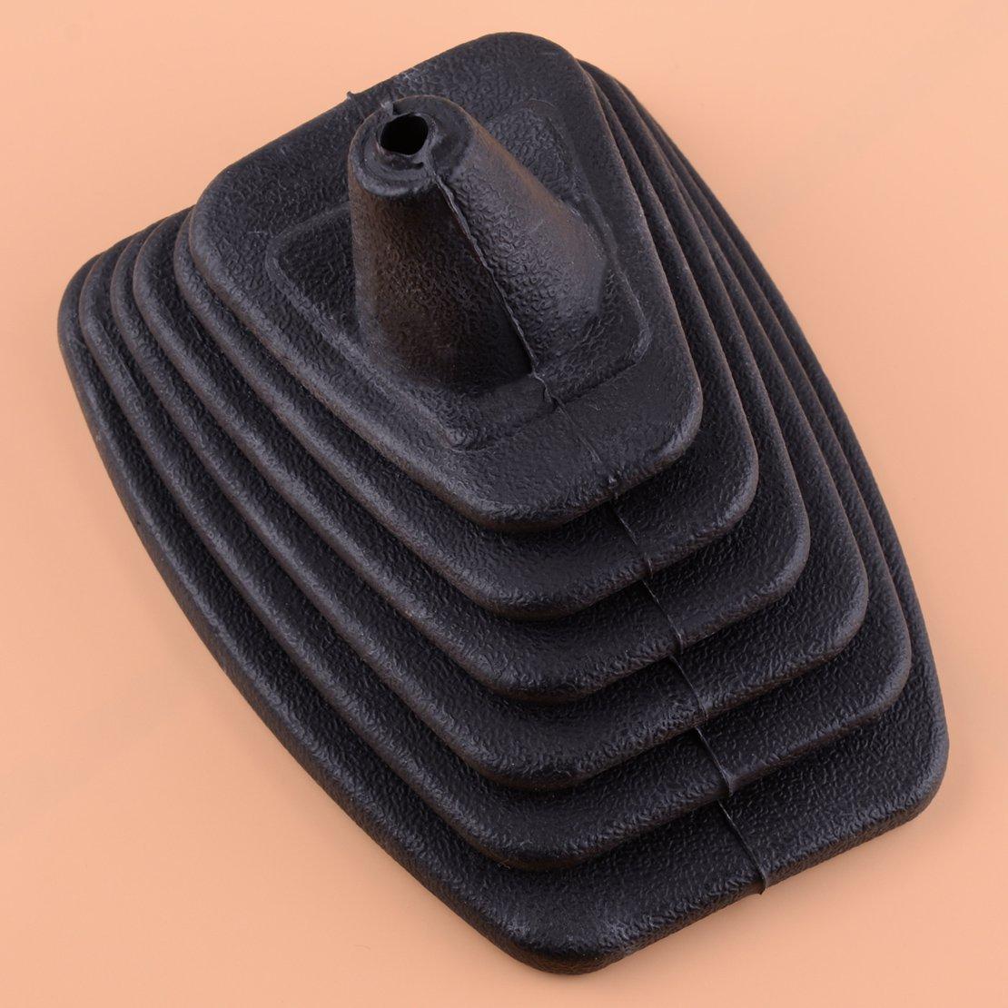 Daphot-Store - New Rubber Black Gear Shift Gaiter Boot Cover Fit For VW Golf MK2 II Jetta II MK2