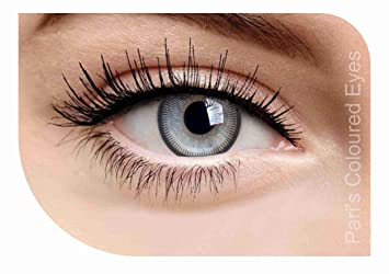 c78d955740e Image Unavailable. Image not available for. Colour  Pari s Coloured Eye  Light Grey Freshlook Contact Lenses ...