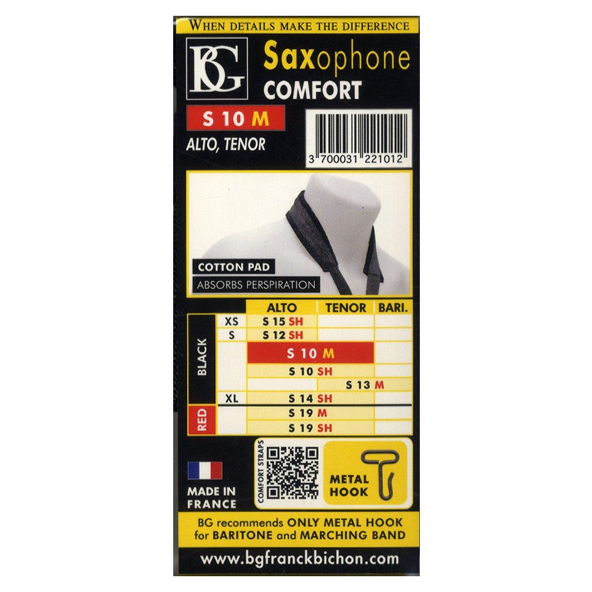 BG ABG S10M Cordon pour Saxophone A//T confort L