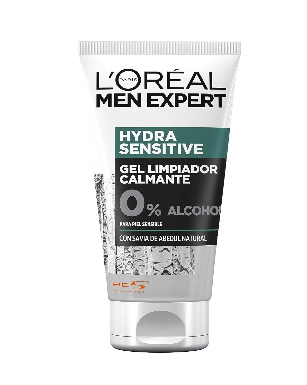 LOréal Paris Men Expert Hydra Sensitive Bálsamo After-Shave Calmante para Piel Sensible - 125 ml: Amazon.es: Belleza