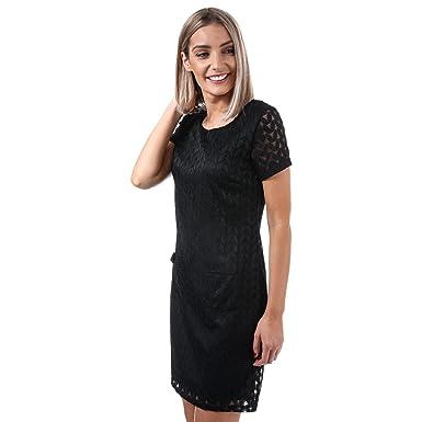 3a91421a547 YUMI Womens Womens Soft Lace Chevron Tunic in Black - 14: Yumi:  Amazon.co.uk: Clothing