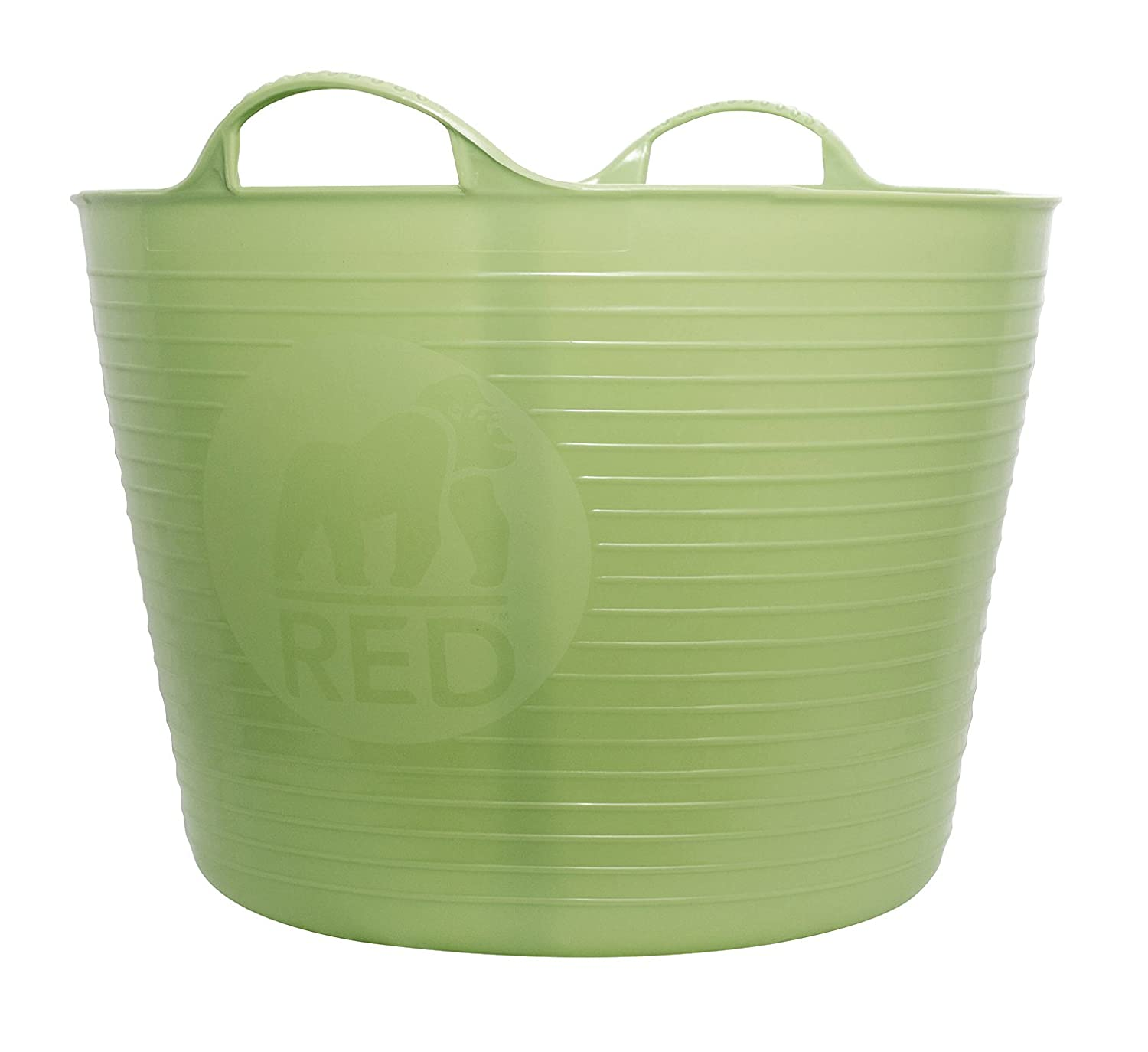 TubTrug SP42PST Large Pistacio Flex Tub, 38 Liter Arett Sales - LG