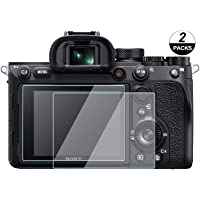 A7R IV Screen Protector Compatible for Sony RX100M7 RX100M6 RX100 VII a7R iv a7R iii a7Rii a7iii a7m2, Tempered Glass Protective Films Cover (2 Packs)