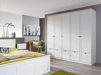 Hochwertig Lifestyle4living Kleiderschrank, Schlafzimmerschrank, Wäscheschrank,  Drehtürenschrank, Schrank, Dielenschrank, Landhausstil, 5