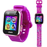 VTech KidiZoom Smartwatch DX2, Special Edition Floral Birds with Bonus Vivid Violet Wristband
