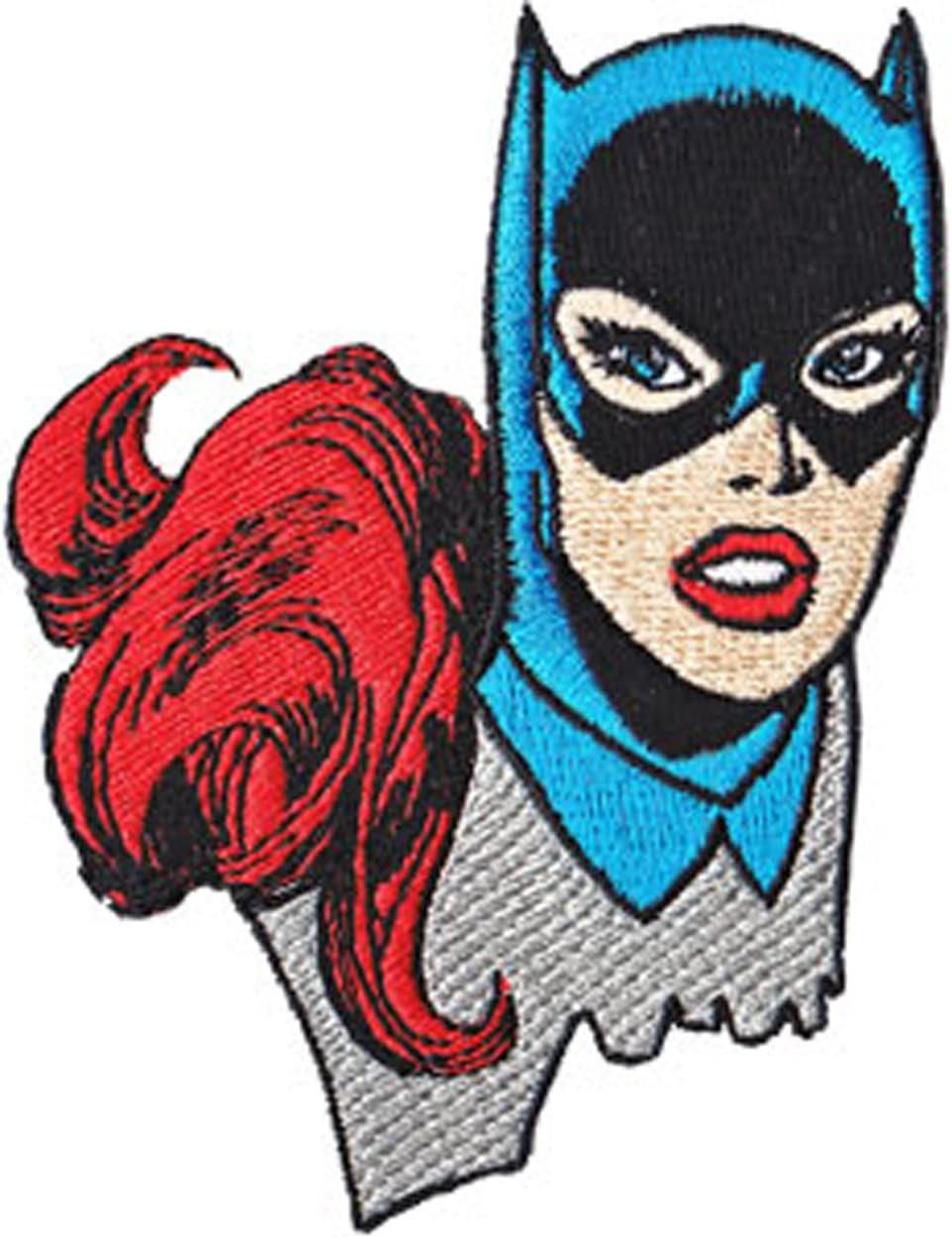 Batman Catwoman Embroidered Iron On Patch dc comics robin