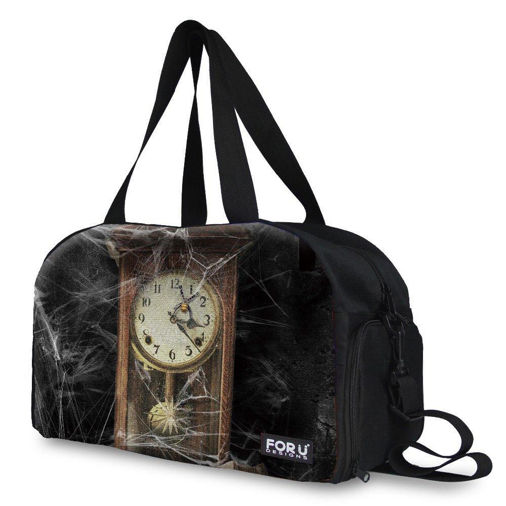 Custom Bag,Men Woman Retro Weekend Bag Canvas Travel Bag Large Capacity Casual Business Luggage Tote Bag Ladies Handbag