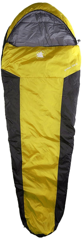 10t Outdoor Equipment 10T Yukon 225M Saco de dormir de la momia Multicolor Apple green//Phantom Black