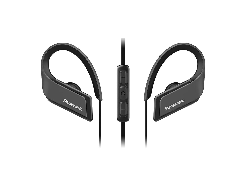 Panasonic Wings RP-BTS35E-K - Auriculares Deportivos In-Ear con Bluetooth, Negro: Amazon.es: Electrónica