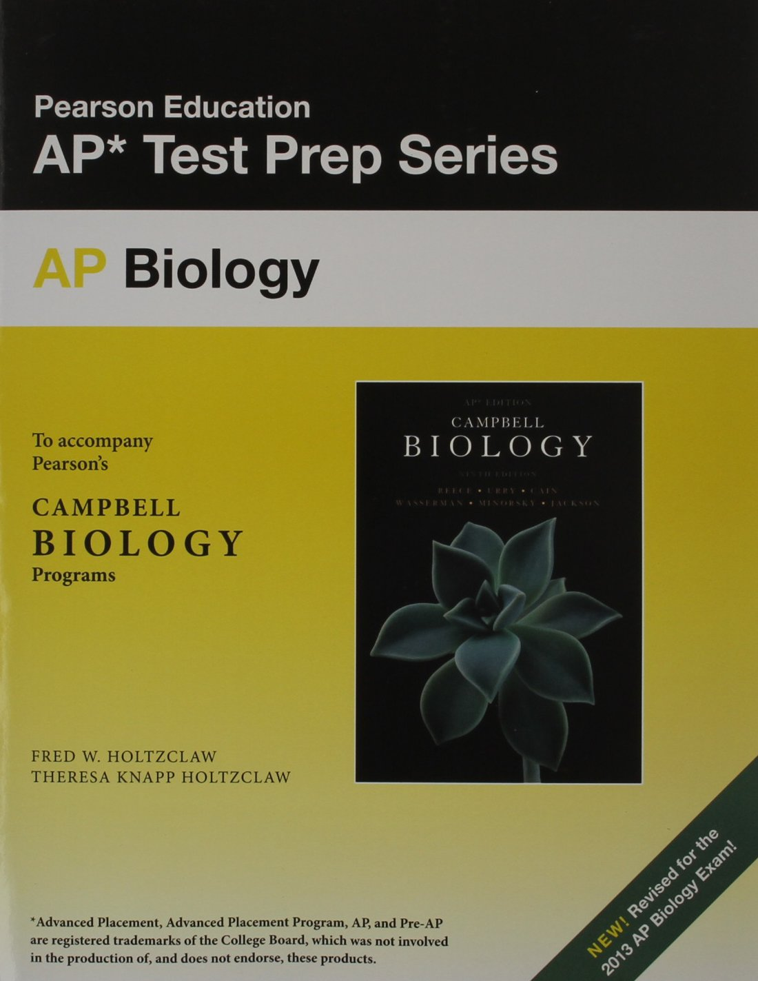 AP Biology: To Accompany Pearson's Campbell Biology Programs: Jane B. Reece,  Fred W. Holtzclaw: 9780321856630: Books - Amazon.ca