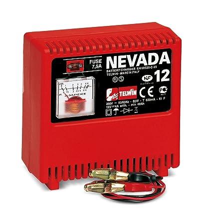 Telwin Nevada 12 - Cargador de baterías: Amazon.es ...