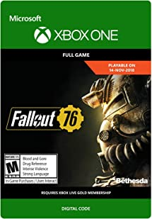 Amazon com: Fallout 76 - Xbox One [Digital Code]: Video Games