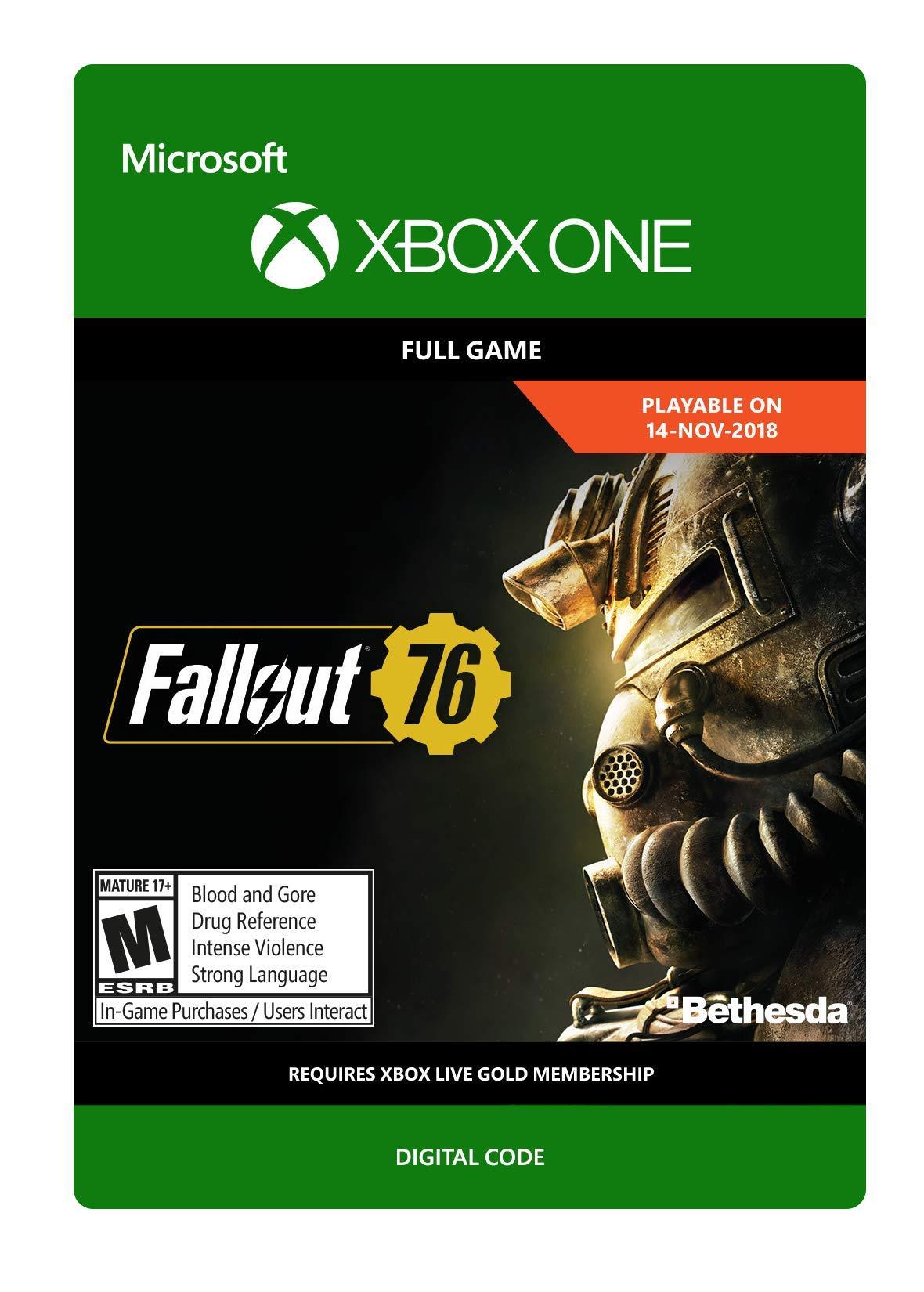 Fallout 76  - Xbox One [Digital Code]